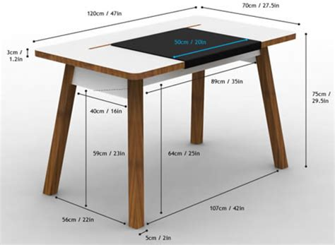 computer desk wood studio designs apple inspired home office furniture design reviver