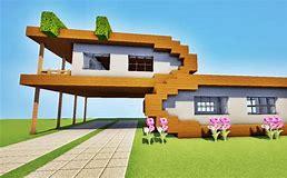 HD wallpapers maison moderne dans minecraft wallpaper-wall ...