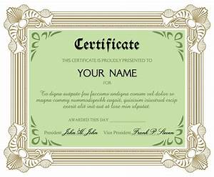 certificate of commendation vector free vector 4vector With certificate of commendation template