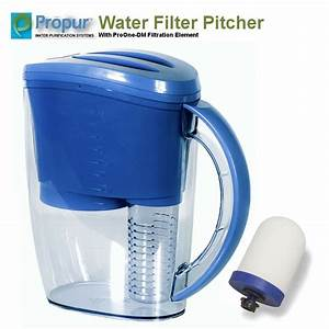 Propur Water Filter Pitcher   Proone G2 0 Filtration