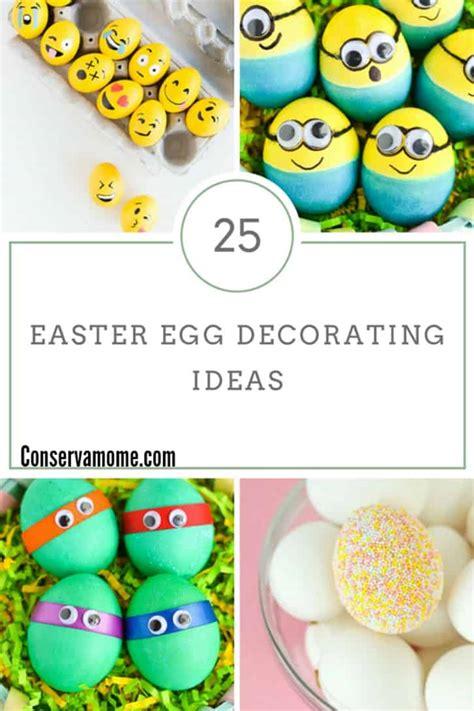easter egg decorating ideas conservamom