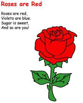 Short Valentine Poems For Preschoolers