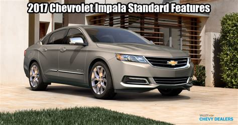 Chevy Impala 0 60 by 2017 Chevy Impala S Standard Features 0 60 1 4 Mile Times