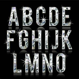 Shiny diamond fonts free vector download (7,705 Free ...