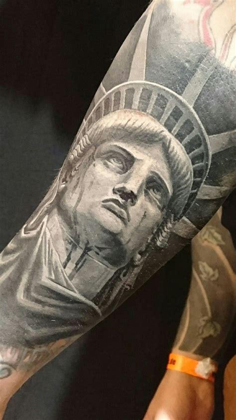 statue  liberty tattoo freiheitsstatue tattoo tattoo