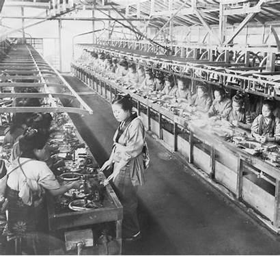 Meiji Factory Japanese Silk Modernization Japan 3d