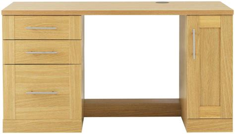 Oak Executive Desk For Natural Office Look