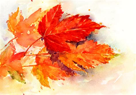 Autumn Wallpapers Watercolor by Sherry Schmidt Watercolors Day Of Fall