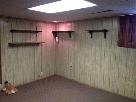 Painting Wood Paneling Basement Defendbigbirdcom