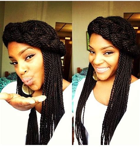 Different Hairstyles For Senegalese Twists by Spectacular Senegalese Twist Hairstyles Hairstyles 2017
