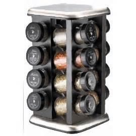 Filled Spice Racks by Kamenstein 16 Jar Filled Revolving Spice Rack Gosale