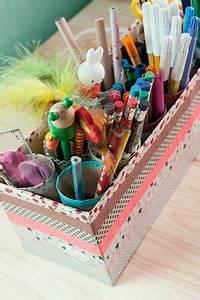 Geschenkpapier Organizer Ikea : organizer kinderzimmer bastelideen originell perfekt f r den schreibtisch schafft nicht nur ~ Eleganceandgraceweddings.com Haus und Dekorationen