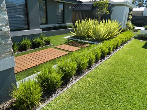 front yard design modern contemporary fake