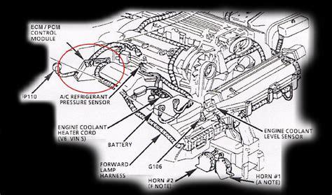 1996 Corvette Engine Compartment Diagram 94 chevrolet corvette engine diagram wiring diagram for free