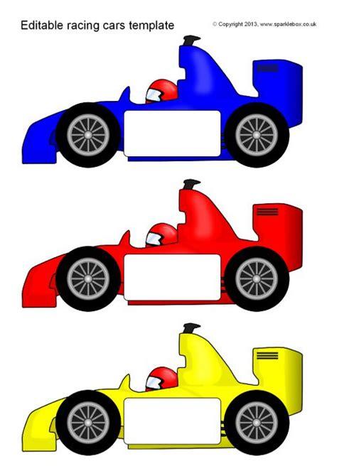 editable racing car templates reversed sb