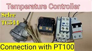 Selec Tc544 Temperature Controller Connection    Temperature