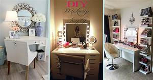 19 best makeup vanity ideas and designs for 2018 With kitchen cabinet trends 2018 combined with face stickers makeup