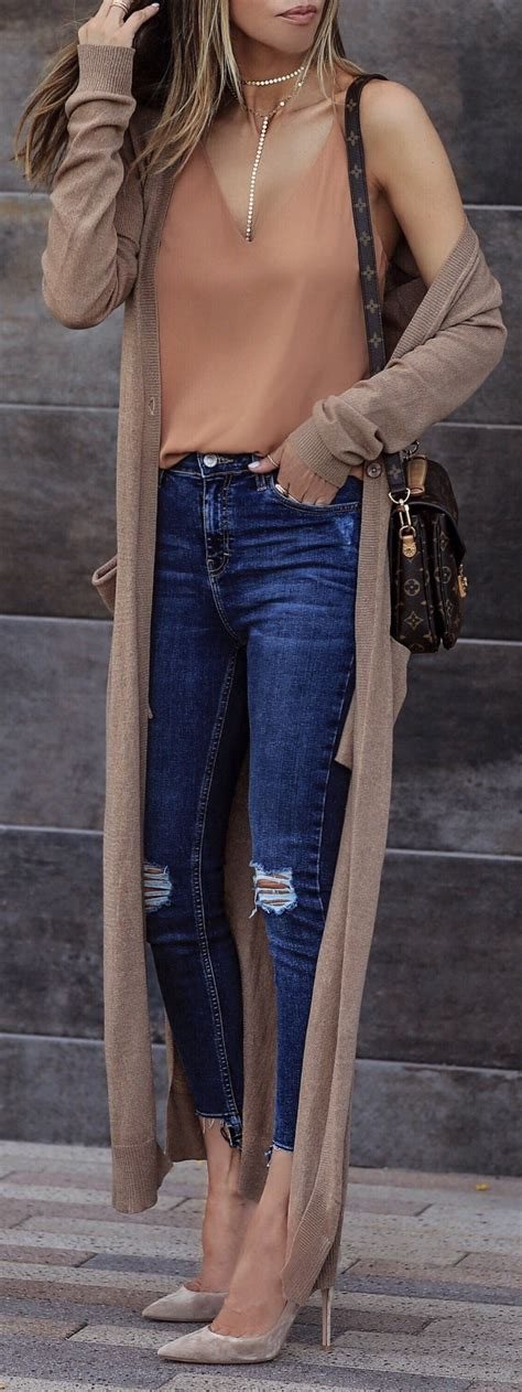 40 Elegant Summer Outfits Ripped Skinny Jeans Monday