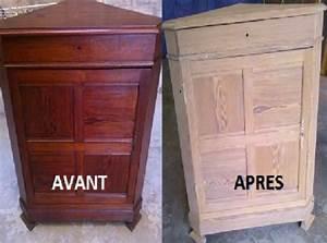 comment decaper naturellement vos vieux meubles en bois With comment decaper un meuble en bois