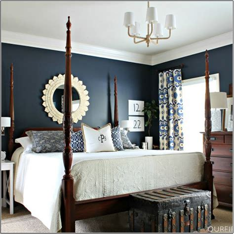 Decorating Ideas Navy Blue Walls navy bedroom decorating ideas decoratingspecial