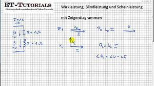 Ssw Mit Et Berechnen : wirkleistung blindleistung und scheinleistung mit zeigerdiagrammen youtube ~ Themetempest.com Abrechnung