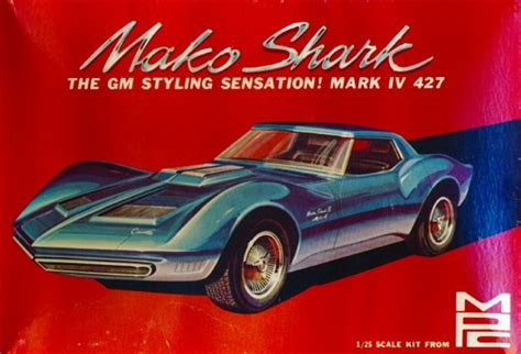 corvette mako shark ii  trailer  fs mint