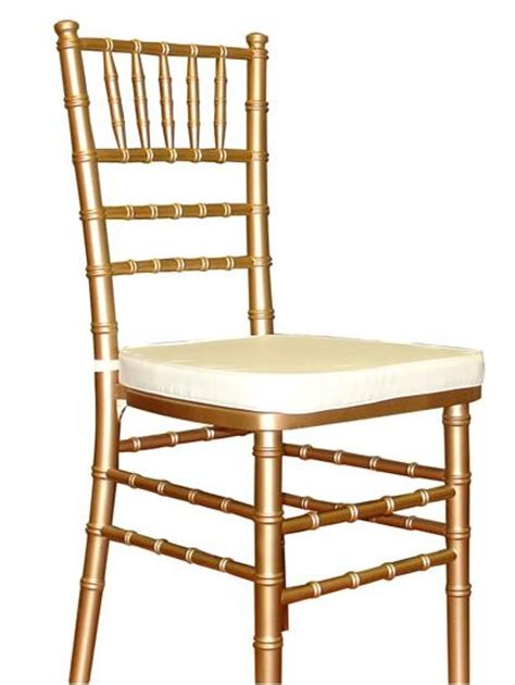 muted gold chivari chairs for the wedding