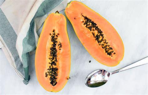 how to cut a papaya how to cut and eat a papaya