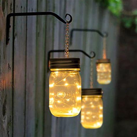Hanging Solar Mason Jar Lid Lights, String Fairy Lights
