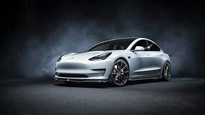 Vorsteiner Tesla Model 3 Volta 2019 4K Wallpaper HD Car
