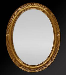 Spiegel Mit Weißem Rahmen : spiegel rahmen oval spiegel holz blattgold ~ Indierocktalk.com Haus und Dekorationen