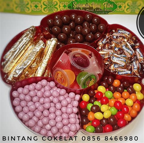 bintang cokelat jual coklat kiloan  kemasan cantik
