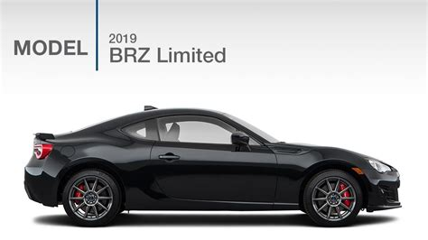 2019 Subaru Brz Limited  Model Review Youtube