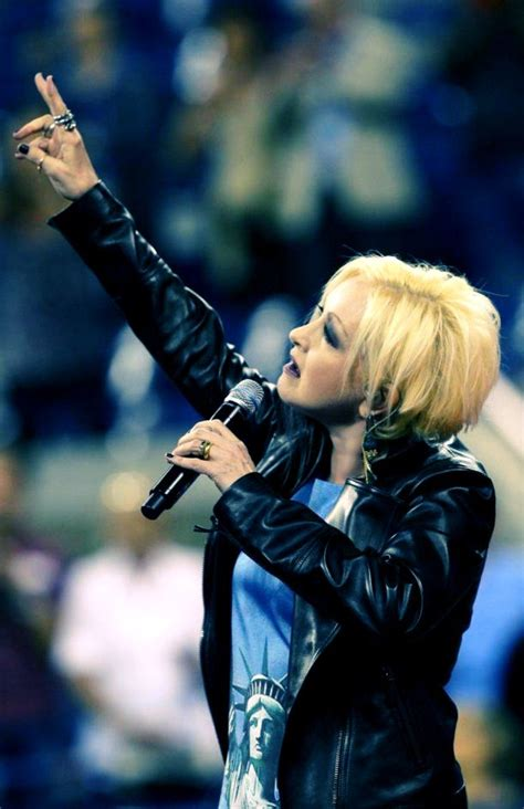 Cyndi Lauper Tribute to victims of September 11th. Anthem ...