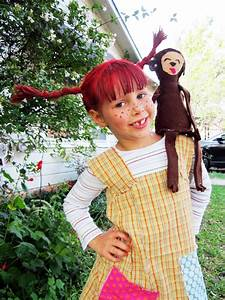 Pippi Langstrumpf Kinderkostm So Gehts Anleitung