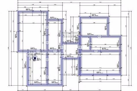 plan de structure béton armé bureau d 39 étude du bâtiment