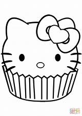 Muffin Drawing Cupcake Coloring Pages Colouring Cartoon Draw Getdrawings Funny Very sketch template