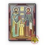 Wooden Russian Orthodox Raphael Icon Icons Saint