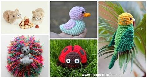 crochet amigurumi garden animal toys  patterns