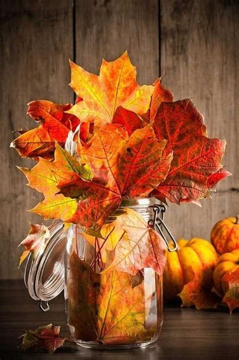 diy fall inspired home decorations  leaves