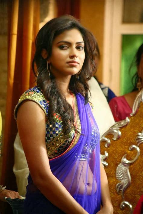 Lg Moviee Amala Paul Hot In Saree Photos
