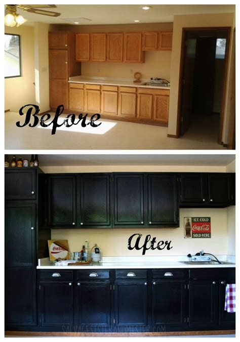 gel stain kitchen cabinets before after 20 java gel stain tips salvage and mister 8304