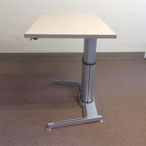 airtouch adjustable height desk steelcase airtouch desks tri state office furniture