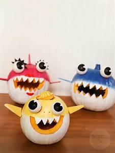 Baby, Shark, And, Family, Jack, O, U0026, 39, Lanterns, Diy