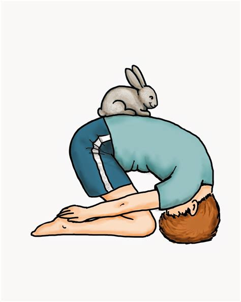 yoga  kids benefits  rabbit posture easter yoga