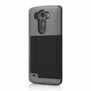 Incipio Highland Leather-Style LG G3 Wallet Case - Black ...