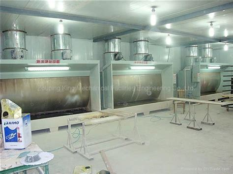 water curtain spray booth kx 5600 king china