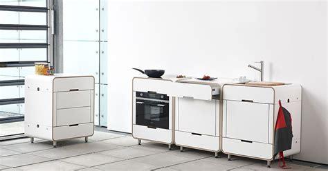 cuisine mobile cuisine atypique blanche
