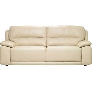chateau d ax 100 genuine leather sofa ivory united