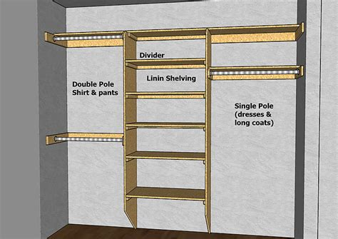 woodwork closet organizers design plans plans pdf